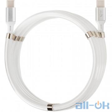 Кабель USB Type-C Krazi Super KZ-UC001 USB to Type-C/Type-C White (79677)