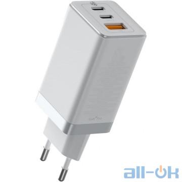 Сетевое зарядное устройство Baseus GaN2 Pro Quick Charger White (CCGAN2P-B02)