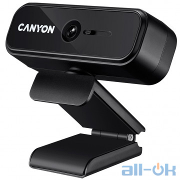 Веб-камера Canyon CNE-HWC2 Black UA UCRF