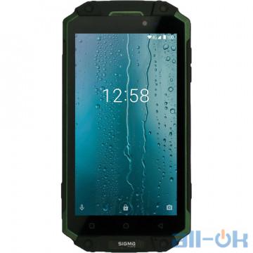 Sigma Mobile X-TREME PQ39 ULTRA Black-Green