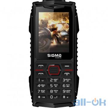 Sigma Mobile X-TREME AZ68 Black-Red