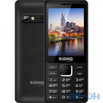 Sigma Mobile X-Style 36 Point Black
