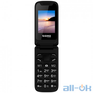 Sigma Mobile X-STYLE 241 SNAP Black UA UCRF