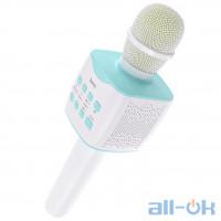Мікрофон HOCO Cantando Karaoke Microphone BK5 White-Blue
