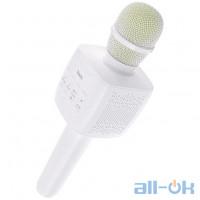 Мікрофон HOCO Cantando Karaoke Microphone BK5 White