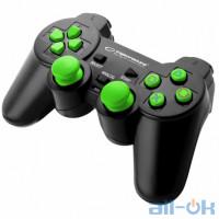 Геймпад Esperanza Trooper PS3/PC Black Green (EGG107G) UA UCRF