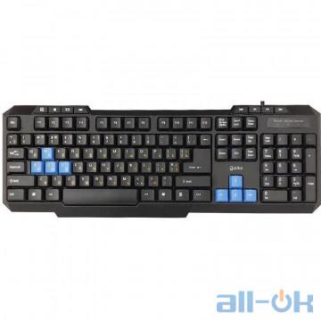 Клавиатура Piko KB-106 Black UA UCRF
