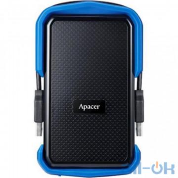 Жесткий диск Apacer AC631 1 TB USB 3.1 Blue (AP1TBAC631U-1)