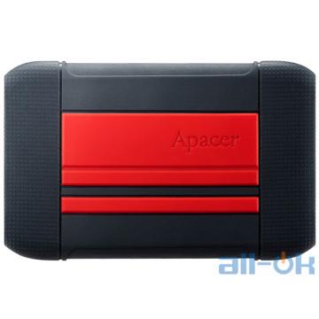 Жесткий диск Apacer AC633 2 TB Power Red X Tough Black (AP2TBAC633R-1)
