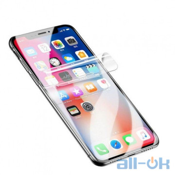 Гидрогелевая противоударная прозрачная пленка Premium для любой модели смартфона (Германия)