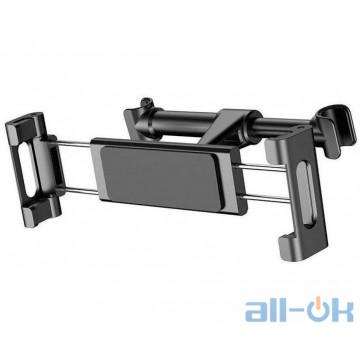 Автомобильный держатель для смартфона или планшета Baseus Back Seat Car Mount Holder Black (SUHZ-01)