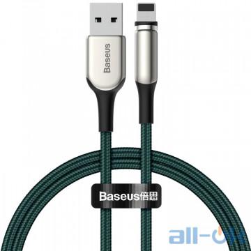 Кабель Baseus Lightning Zinc Magnetic (Charging) 1m 2A Green