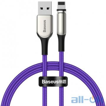 Кабель Baseus Lightning Zinc Magnetic (Charging) 1m 2A Purple