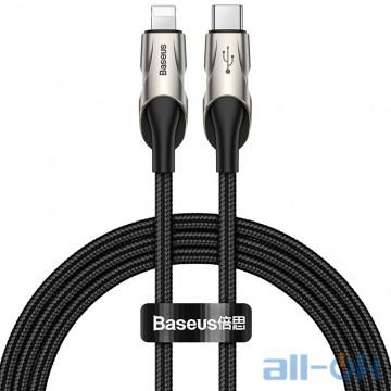 Кабель BASEUS Type-C to Lightning Fish Eye Cable 1m 18W PD Black