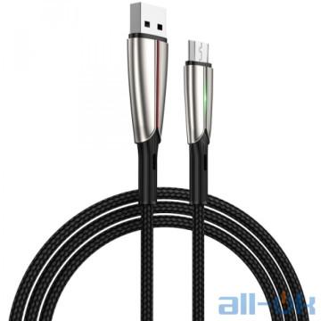Кабель Micro USB Joyroom Time S-M399 LED MicroUSB 1.5m 3A Black