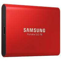 SSD накопитель Samsung T5 Red 500 GB (MU-PA500R/WW)
