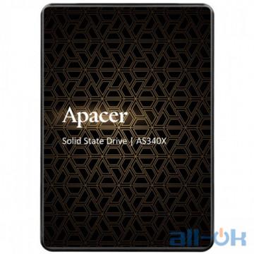 SSD накопитель Apacer AS340X 480 GB (AP480GAS340XC-1)