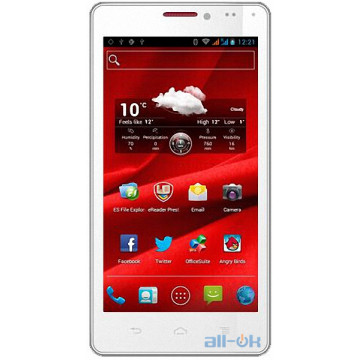 Prestigio MultiPhone 5430 White
