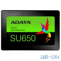 SSD накопитель ADATA Ultimate SU650 480 GB (ASU650SS-480GT-R)