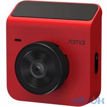 Автомобильный видеорегистратор Xiaomi 70mai Dash Cam A400 Red WiFi UA UCRF