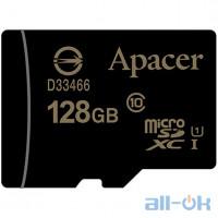 Карта памяти Apacer 128 GB microSDXC Class 10 UHS-I AP128GMCSX10U1-RA