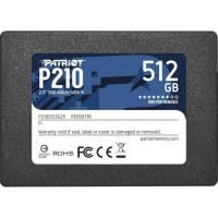 SSD накопитель PATRIOT P210 512 GB (P210S512G25)