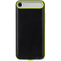Внешний аккумулятор (Power Bank) чехол ROCK P8 Power Case 2000mAh iPhone 7 Green RMP0326