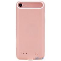 Зовнішній акумулятор (Power Bank) чохол ROCK P8 Power Case 2000mAh iPhone 7 Pink RMP0326