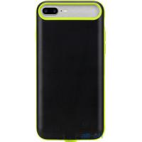 Внешний аккумулятор (Power Bank) чехол ROCK P9 Power Case 2000mAh iPhone 7 Plus Green