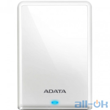 Жесткий диск ADATA HV620S 1 TB White (AHV620S-1TU31-CWH)