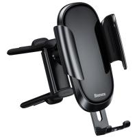 Автомобильный держатель для смартфона Baseus Future Gravity Vehicle-Mounted Holder Black (Round Air Outlet) (SUYL-BWL01)