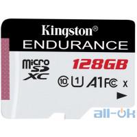 Карта пам'яті Kingston 128 GB MicroSDXC Class 10 UHS-I A1 Endurance SDCE/128GB