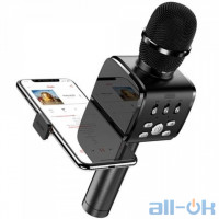 Караоке мікрофон JOYROOM with Holder JR-MC3 Black