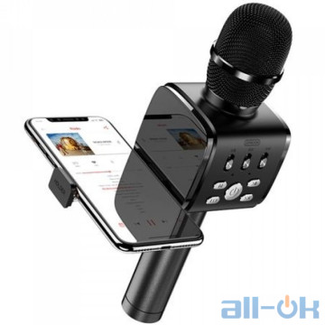 Караоке микрофон JOYROOM with Holder JR-MC3 Black