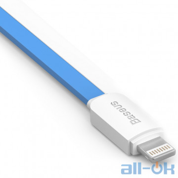 Кабель Baseus String 1m Blue+White (CAAPIH6-ND32)