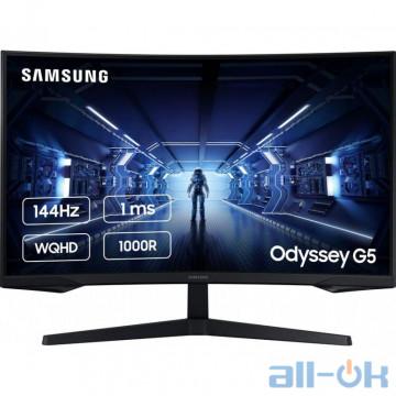 ЖК монитор Samsung Odyssey G5 LC27G55T Black (LC27G55TQWIXCI) UA UCRF
