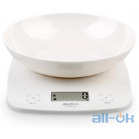 Електронні кухонні ваги Senssun Electronic Kitchen Scale EK9643K White