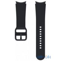 Ремінець Samsung Sport Band (20mm, M/L) Black (ET-SFR87LBEGRU) для Samsung Galaxy Watch 4