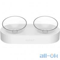 Миска для домашніх тварин Xiaomi PETKIT 15 Adjustable Double Bowl P521 (White)