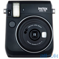 Фотокамера моментальной печати Fujifilm Instax Mini 70 Black EX D