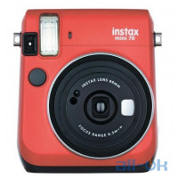 Фотокамера моментальной печати Fujifilm Instax Mini 70 Red EX D