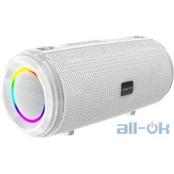 Акустика BOROFONE Young sports with colorful LED IPX5 BR13 |BT, AUX, FM, TF, USB| grey