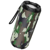 Акустика BOROFONE Smart sports BT speaker IPX5 BR15  TWS, BT5.0, AUX, FM, TF, USB  camouflage-green