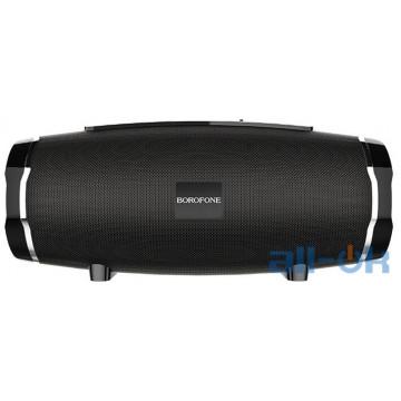 Акустика BOROFONE Rich sound sports wireless speaker IPX5 BR3  TWS, BT5.0, AUX, FM, TF, USB  black