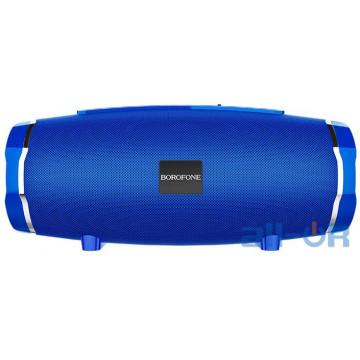 Акустика BOROFONE Rich sound sports wireless speaker IPX5 BR3  TWS, BT5.0, AUX, FM, TF, USB  blue