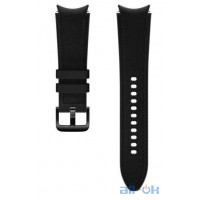 Ремінець Samsung Hybrid Band для Galaxy Watch 4 Wise/Fresh Black (20mm, M/L) (ET-SHR89LBEGRU)