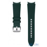 Ремінець Samsung Hybrid Band для Galaxy Watch 4 Wise/Fresh Green (20mm, M/L) (ET-SHR89LGEGRU)