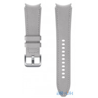Ремінець Samsung Hybrid Band для Galaxy Watch 4 Wise/Fresh Silver (20mm, M/L) (ET-SHR89LSEGRU)