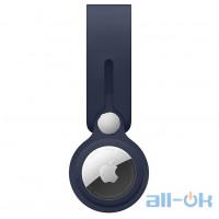 Чохол для пошукового брелока Apple AirTag Loop Deep Navy (MHJ03)