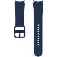 Ремінець Samsung Sport Band (20mm, M/L) Navy (ET-SFR87LNEGRU) для Galaxy Watch 4